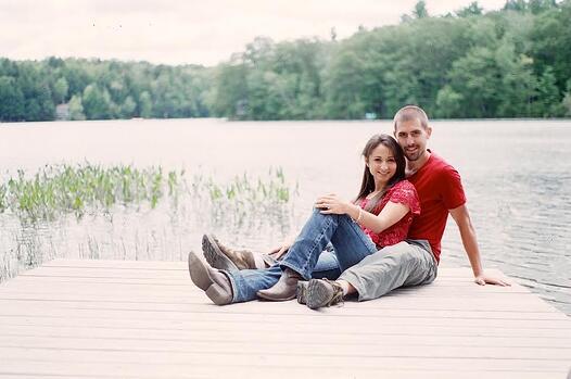 Granite Ridge Feature Couple 2015 Rustic Maine Barn Wedding