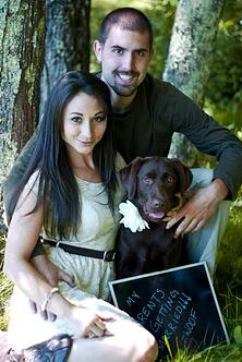 Granite Ridge Feature Couple Rustic Maine Barn wedding