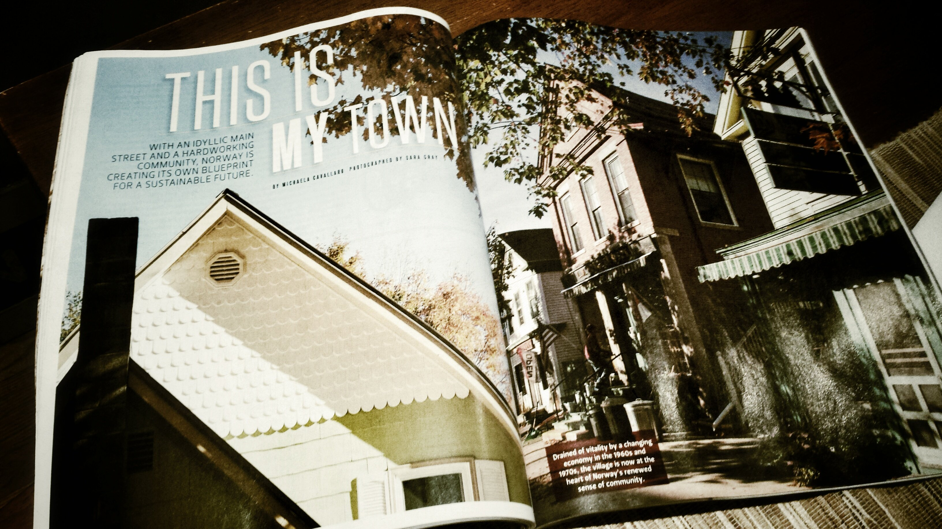Norway Maine Down East Magazine Feature