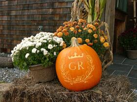 Rustic Wedding Pumpkins