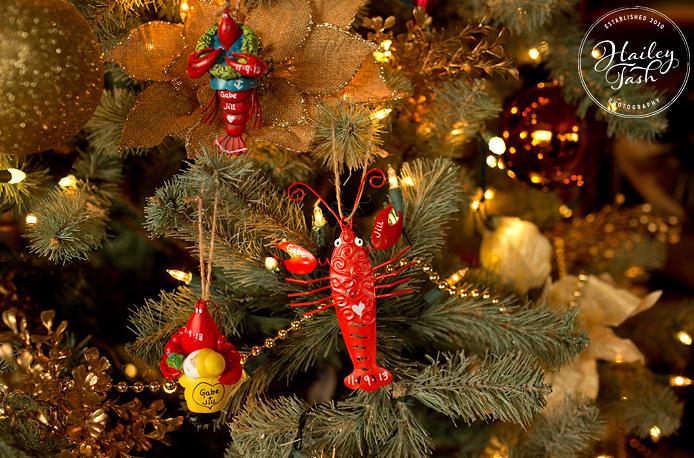 DIY Lobster Themed Christmas Ornament Wedding Favors