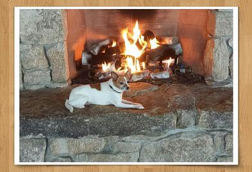 Midge fireplace Granite Ridge Estate Barn