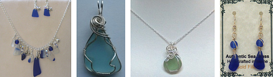 Sea Glass Maine Made Barn Wedding Jewelry Lively Accents