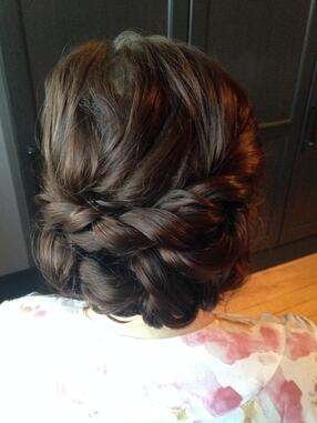 Wedding Braid Hair Example