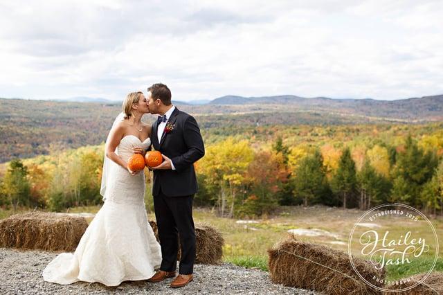 Fall New England Wedding Photos