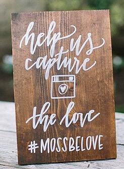 The Art of the Wedding Hashtag