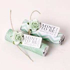 maine wedding, barn, new england, wedding favors, guest friendly, rustic wedding, mint, custom wrapper