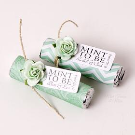 maine wedding, barn, new england, wedding favors, guest friendly, rustic wedding, mint, custom wrapper