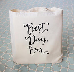 maine wedding, barn, new england, wedding favors, guest friendly, rustic wedding, tote bag,