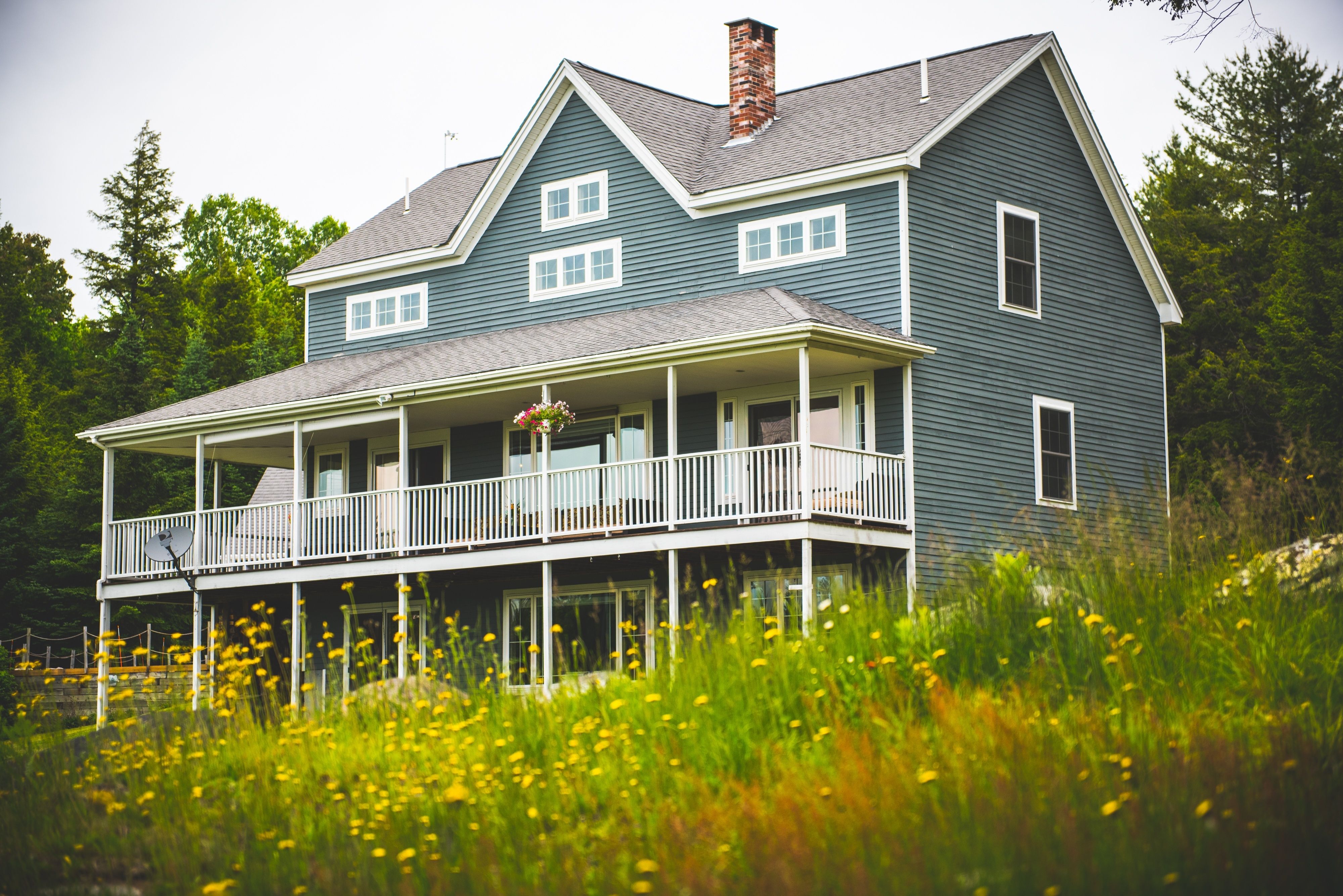 Maine Lake House House Plan 2017