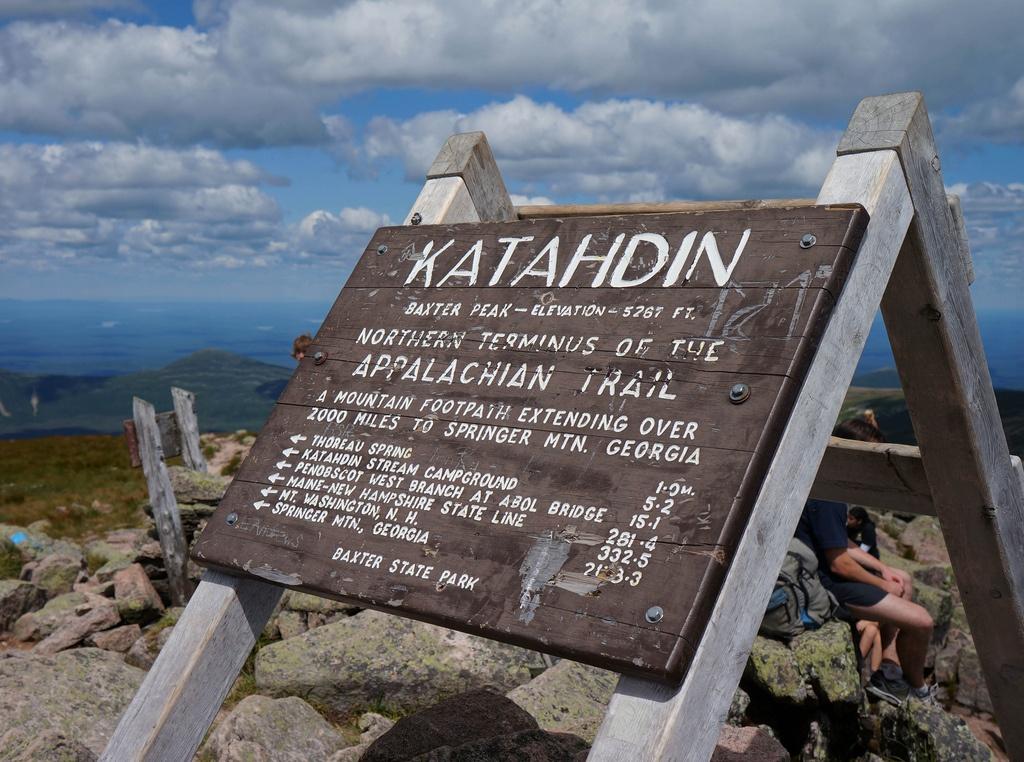 katahdin appalachian trail maine
